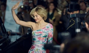 Emma Corrin as Lady Diana Spencer in the fourth series of the Netflix original The Crown.
