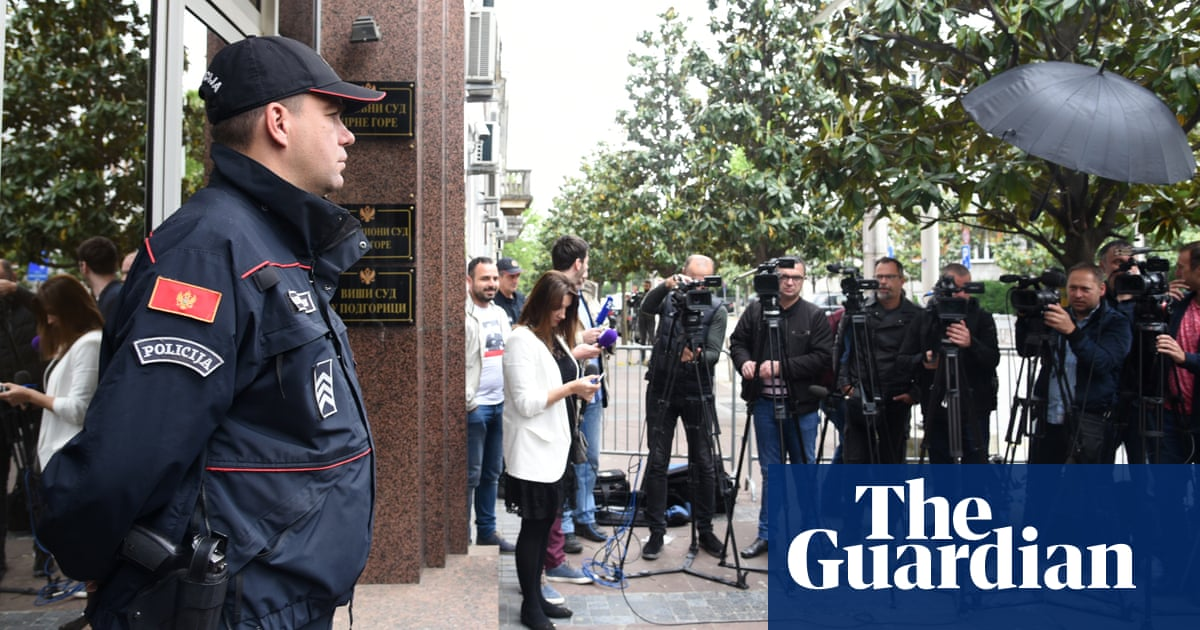 Alleged Russian spies sentenced to jail over Montenegro 'coup plot'