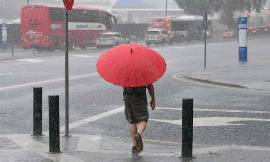 Wet weather in Brisbane