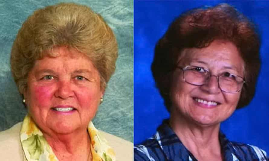 Sisters Mary Margaret Kreuper (left) and Lana Chang.