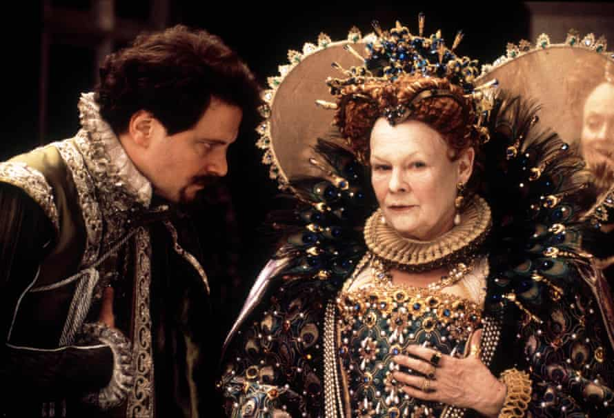 Colin Firth and Judi Dench in Shakespeare in Love.