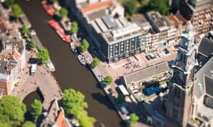 Major city or model village? Amsterdam miniaturised – in