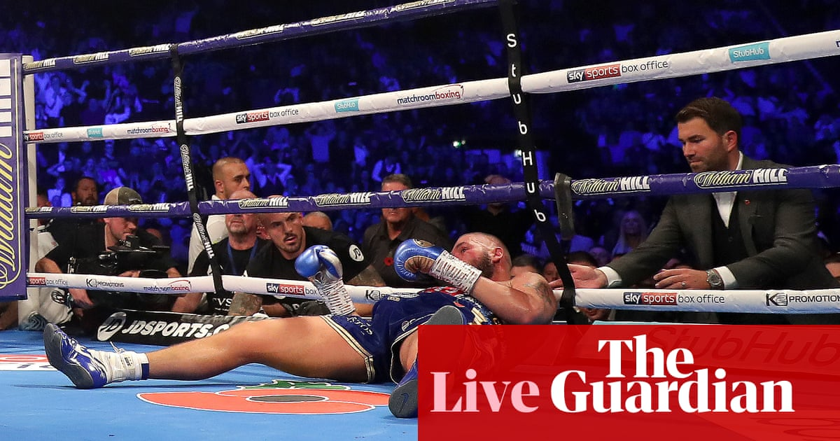 Oleksandr Usyk beats Tony Bellew to retain world titles – as it happened