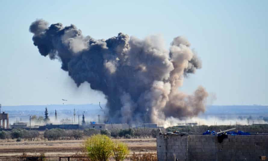 An airstrike against Isis this week.