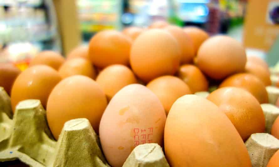 A box of eggs