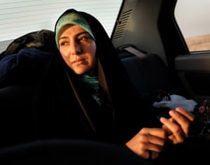 Fatima, 35, travels every year from Shiraz with her family to visit the memorials