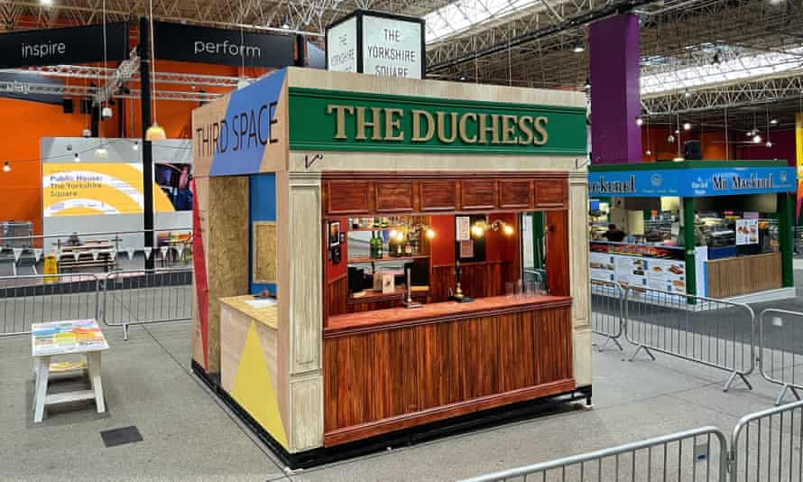 The new pop-up version of the Duchess in Leeds' Kirkgate Market.