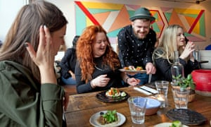 Britons are spending more than £45 a week on restaurants and hotels for the first time in five years, figures show.