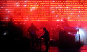 Massive Attack at the 2010 Big Chill festival
