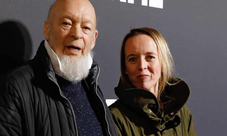 Emily Eavis (right) with her father, Michael Eavis.