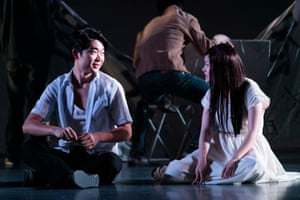 Charles Wu and Jenny Wu in Sydney Theatre Company's Chimerica