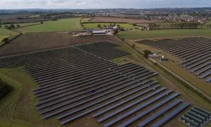 Clayhill 10MW solar farm, near Flitwick, Bedfordshire