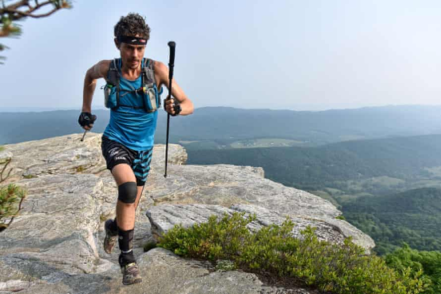 During the Appalachian trail, Scott Jurek consumed up to 8,000 calories a day.