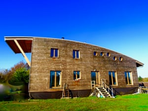 Here is one for an environmentally aware nature lover: a wooden eco house with numerous extra dwellings in the small village of Théhillac in Brittany. The French owner, an experienced geobiologist, is selling the recently completed project in order to spend a year travelling on her boat.