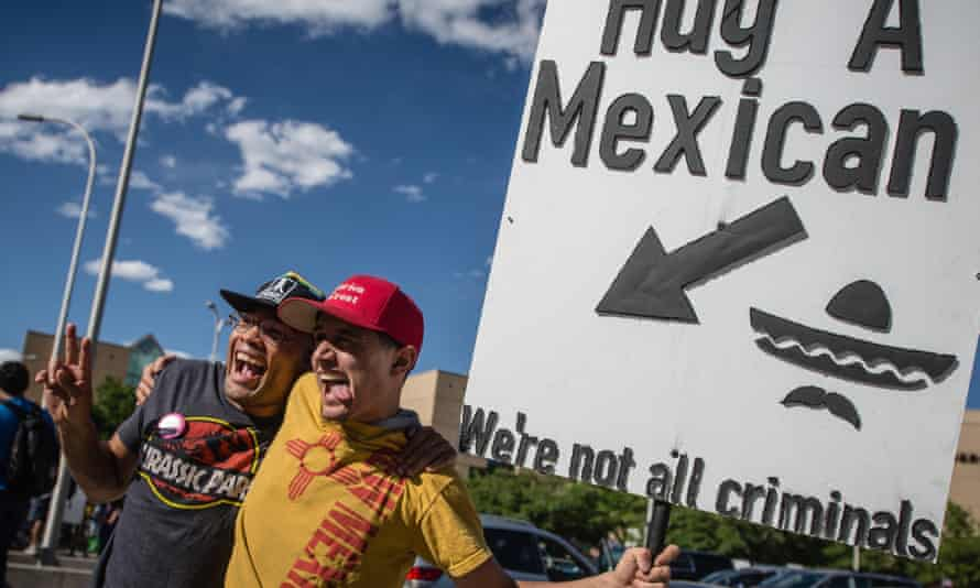 Mexican activists on the campaign trail.