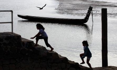 New Zealand children