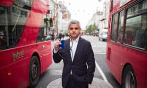 Sadiq Khan: 'With nearly 10,000 people dying early every year in London due to exposure to air pollution, cleaning up London's toxic air is now an issue of life and death.'