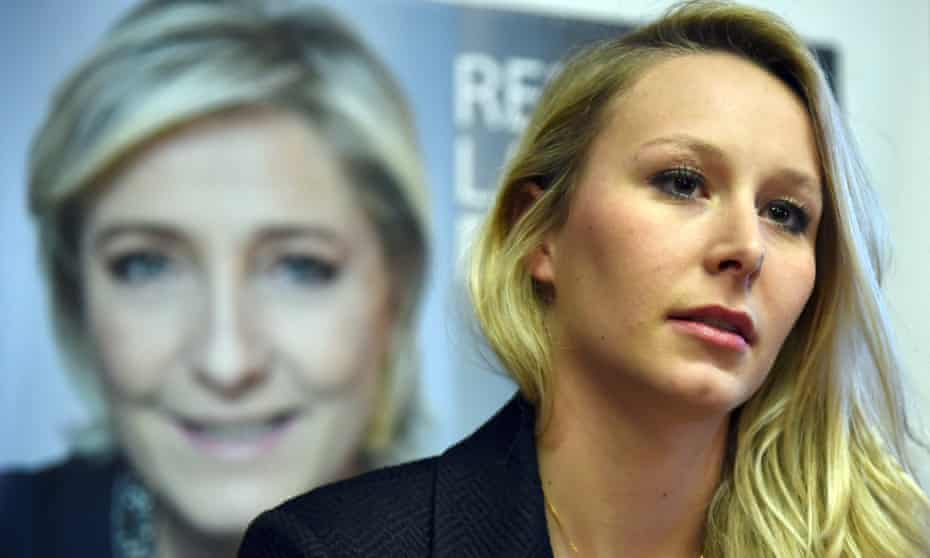 'Ideological differences between Philippot and Le Pen's ambitious niece Marion Maréchal-Le Pen (pictured) still fester and could complicate the presidential campaign.'