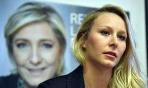 Front National MP Marion Maréchal-Le Pen.