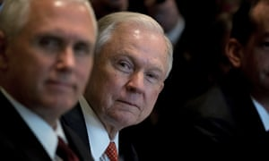Jeff Sessions is to testify in front of the Senate intelligence committee on Tuesday.