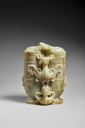 Han Dynasty vase dating to the 1st to 2nd century.