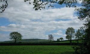 Looking towards Kit Hill.