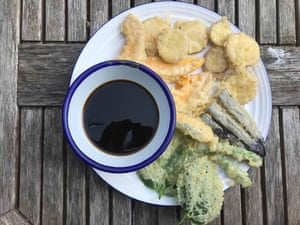 Felicity Cloake Tim Anderson: ' a slightly lumpy batter contains more air and irregularities that will give your tempura a light, lacy structure'