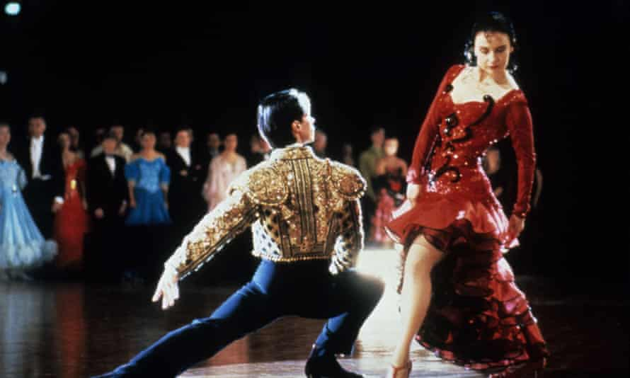 Paul Mercurio and Tara Morice in the 1992 film version of Strictly Ballroom.