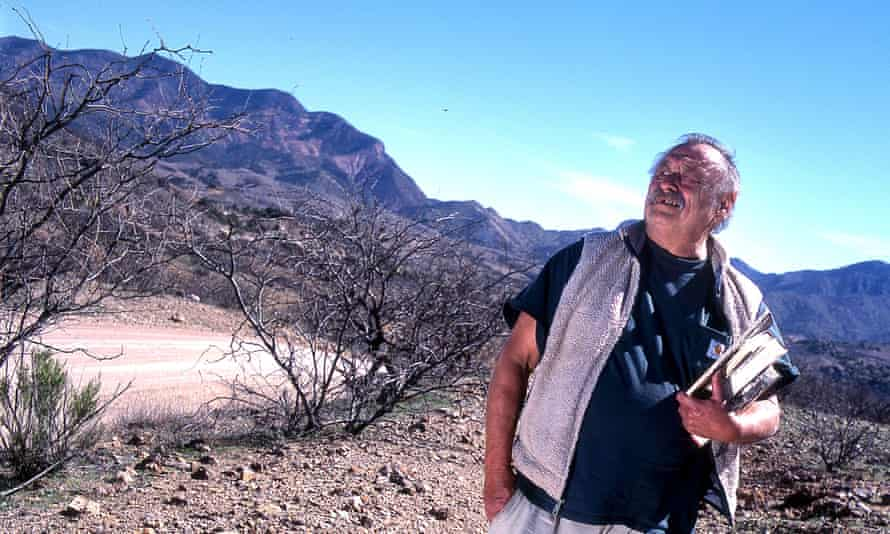 Let's go outside … Jim Harrison, author of Davla.
