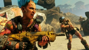 'Like armed Prodigy fans' … the Goon Squad in Rage 2.