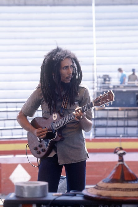Marley in Ibiza in 1980.