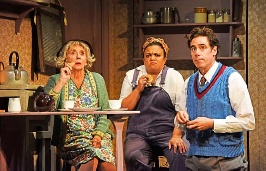 Sue Johnston, Rina Fatania and Stephen Mangan