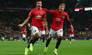 Mason Greenwood (left) scored for Manchester United in the Carabao Cup and the teenager is line to play against Arsenal.