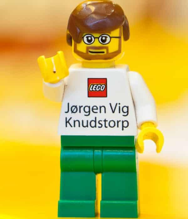 CEO Jørgen Vig Knudstorp's Minifigure.