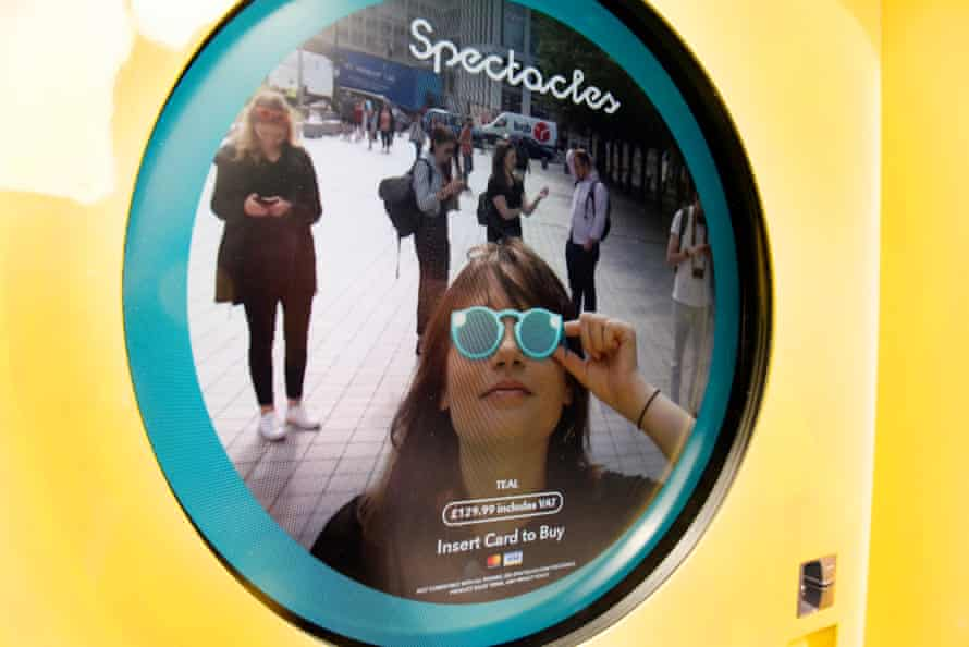 The company is hoping for more success with its Spectacles than it had in 2017.