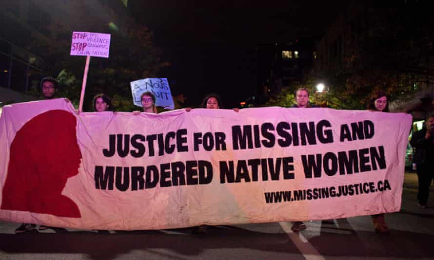 The Native Womens Association of Canada has been calling for an end to violence against indigenous women.