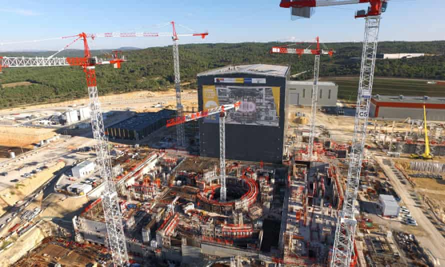 Nuclear fusion reasearch at ITER