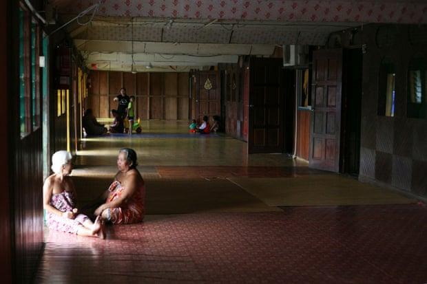 longhouse dei Dayak