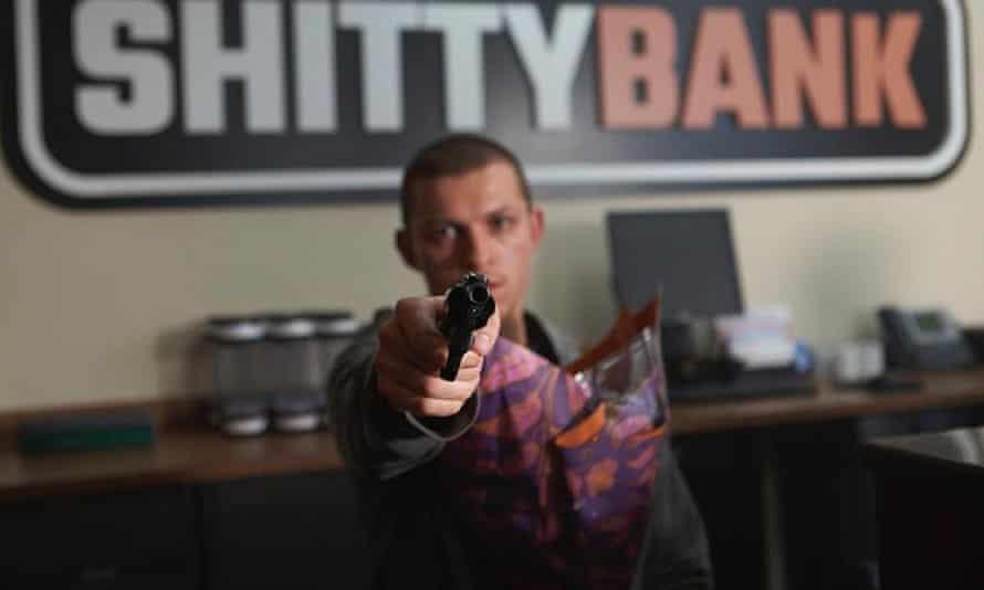 Bleak … Tom Holland as Cherry.