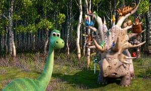 Part coming-of-age story, part western … The Good Dinosaur.
