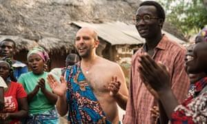 Checco (Luca Medici) and Oumar (Souleymane Sylla) in the record-breaking Tolo Tolo.