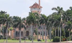 Donald Trump's Mar-a-Lago Club, Palm Beach, Florida.
