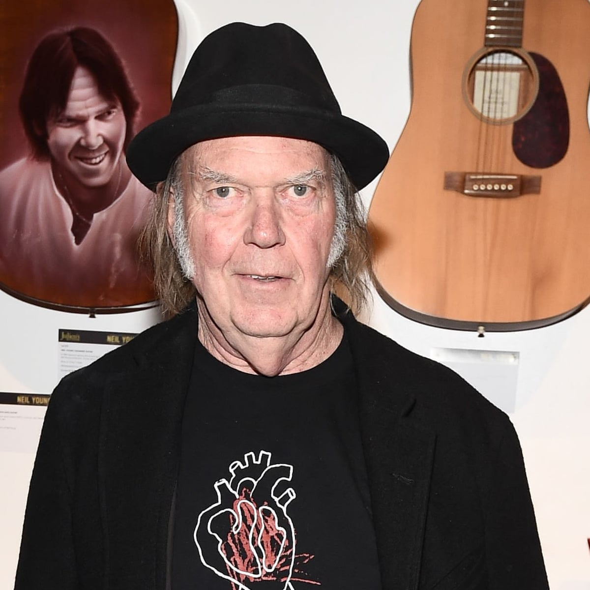 The 74-year old son of father (?) and mother(?) Neil Young in 2020 photo. Neil Young earned a  million dollar salary - leaving the net worth at  million in 2020