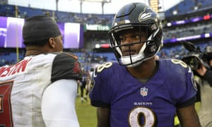 Lamar Jackson is 4-1 as the Ravens' starter
