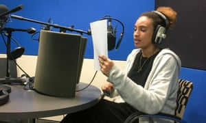 Recording of the Guardian Briefing rich audio script