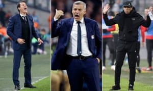 Rudi Garcia, Bruno Génésio and Jean-Louis Gasset are all being replaced this summer.
