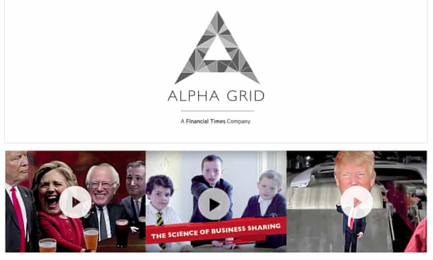 Alpha Grid produces branded content across broadcast, video, digital and social media.