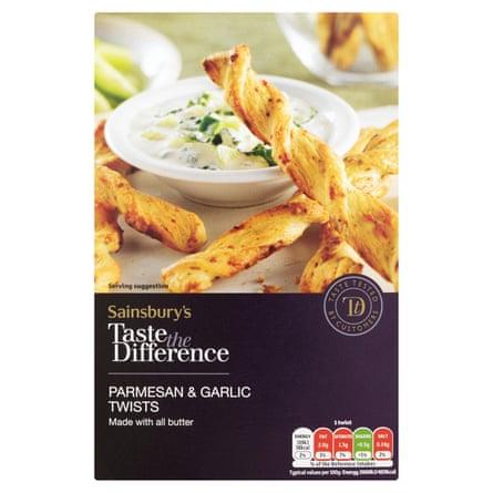 Sainsbury's All Butter Parmesan Twists