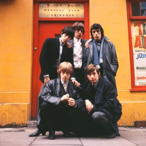 The Rolling Stones outside the Tin Pan Alley Club in London, 1963