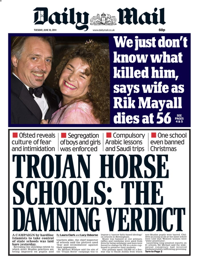 Trojan horse: the real story behind the fake 'Islamic plot' to take